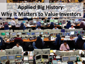 Applied Big History: A Guide for Investors